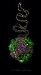 Волшебный Дар, талисман, кельтика, этнические украшения, энергия украшения, укращения с клевером, авторские украшения, галактика, друиды украшения / Magic Gift, talisman, celtic,  ethnic jewelry, energy jewelry, clover jewelry, designer jewelry, galaxy, druids jewelry